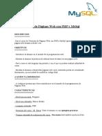 Creaciones de Paginas Web Con Php y Mysql