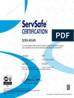 servesafe certification