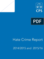CPS Hate Crime Report