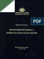 Conducta Moral en El Menor
