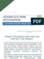 Adayar Eco Park Restoration
