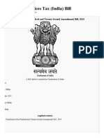 Goods and Services Tax (India) Bill - Wikipedia, The Free Encyclopedia