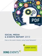 Social Media and Events Report 2013
