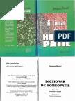 Dictionar de Homeopatie Jacques Boulet