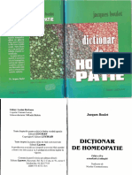 Dictionar de Homeopatie Jacques Boulet