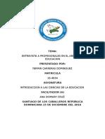 Trabajo Final de Introduccion a Las Ciencias de La Educacion