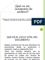 Ciclo Vital y Generalidades de Los Documentos Bb