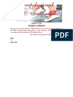 Campdevànol, 600 Compassos (Josep Loredo)_portades, Particel·Les i Partitura