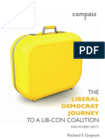 The Liberal Democrat Journey to a Lib-Con Coalition - Richard Grayson