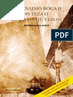 Upoznajmo Boga II - 95 Teza O Opravdanju Verom - Morris Venden