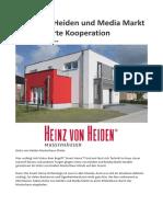 Heinz von Heiden und Media Markt - Eine smarte Kooperation