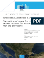 Elaboration of maps for climatic and seismic actions for structural design with the Eurocodes
