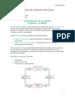 Geografía Del Comercio Internacional