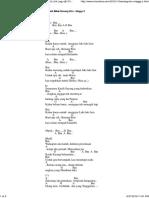 Benang Biru - Meggy Z Chord Gitar Dangdut & Lirik Lagu @ Chordvisa