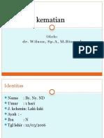 LAPORAN KEMATIAN 3