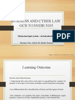 BCL -Intro to Law