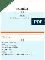 LAPORAN KEMATIAN 1