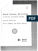 Guide on Essay Writing