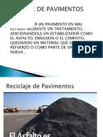Reciclaje de Pavimentos Uap Ic