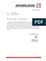 ASRI Letter About Soil
