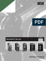 SEW MD60A Inverter - Uputstvo