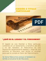 LA SUCESIÓN A TITULO PARTICULAR.pptx