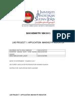 Laboratory Project 1