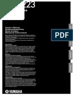YDP223 Manual