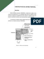 Tridipanel como metodo de construcción