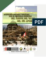 Zonificación ecológica y económica del VRA