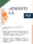 Semantic a Pires de Oliveira Intro Linguistic A