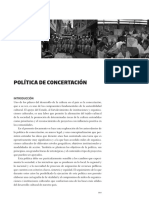 14 Politica Concertacion