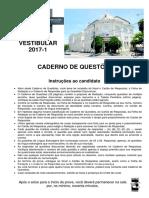 VestibularFMC2017 1 Prova