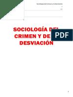 Sociología Del Crimen y La Desviación