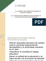 Orientaciones Didacticas de La RIEB