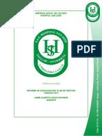 Informe Plan de Gestion 2013