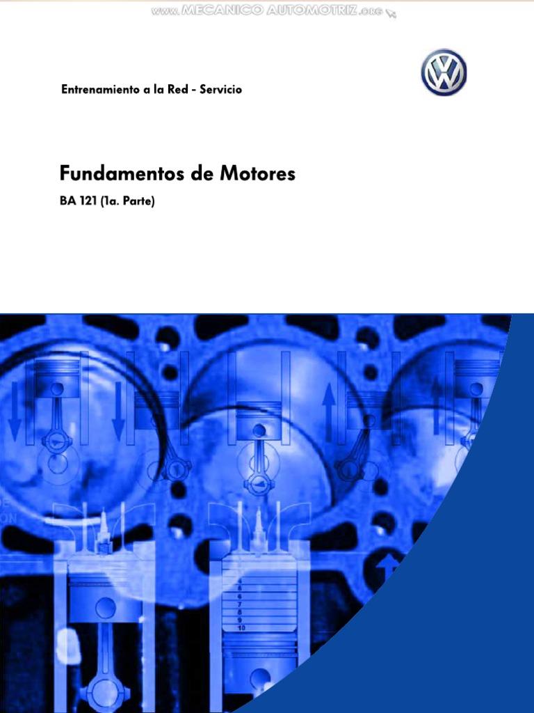Manual Entrenamiento Motores Componentes Funciones Piezas Elementos ...