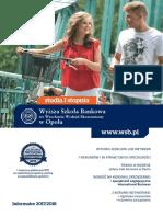 Informator 2017 - studia I stopnia - Wyższa Szkoła Bankowa w Opolu