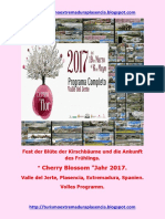 Cerezo en Flor 2017.Deutsch