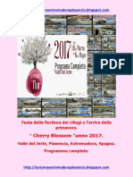 Cerezo en Flor 2017.Italiano