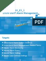 Zxun Uspp v4(Hlr)-Alarm Management