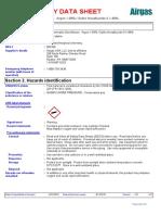 Msds Sulfur Hexafluoride - Airgas