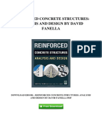 v375 eBook eBook Download Reinforced Concrete Structures Analysis and Design by David Fanella