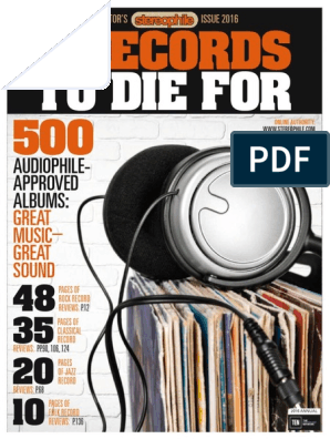 Stereophile Special Collector S Annual 2016 Usapdf Sound