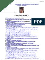 ABSDF (Australia) Aung San Suu Kyi page