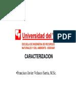 Modulo III Revision Parametros Caracterización