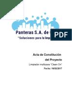 Acta de Constitución Del Proyecto_PANTERAS