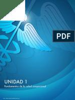 Tema 1 Intruduccion a La Salud Ocupacional