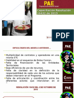 Presentacion Pae Resolucion 16432 de 2015
