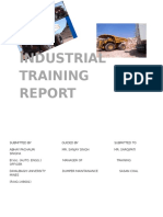 Industrial Training Report.dox